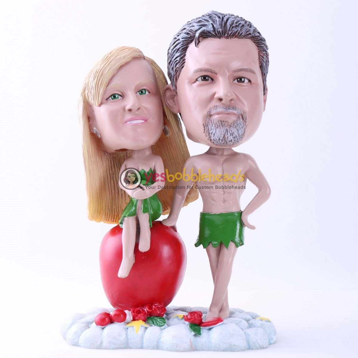 Picture of Custom Bobblehead Doll: Adam and Eve