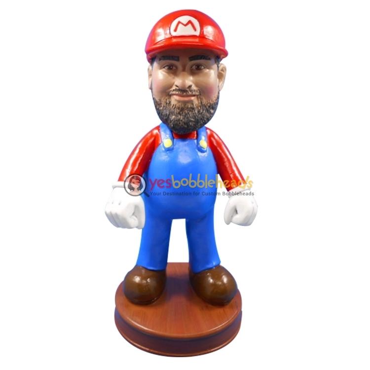 Picture of Custom Bobblehead Doll: Super Mario