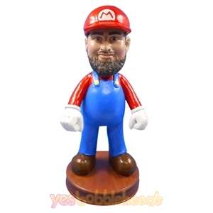 Picture of Custom Bobblehead Doll: Super Mario