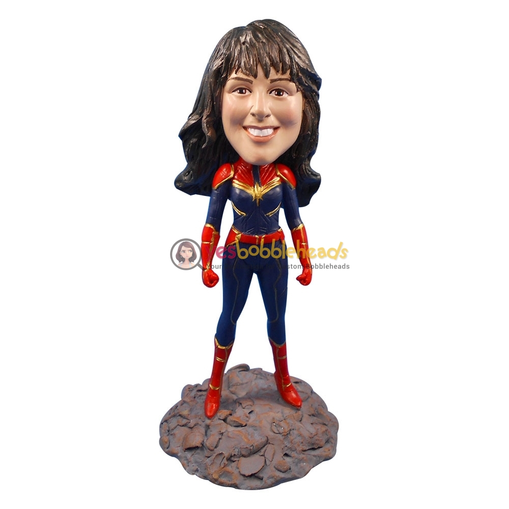 Picture of Custom Bobblehead Doll: Captain Marvel