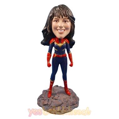 Picture of Custom Bobblehead Doll: Captain Marvel