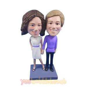 Picture of Custom Bobblehead Doll: Same Sex Female Couple