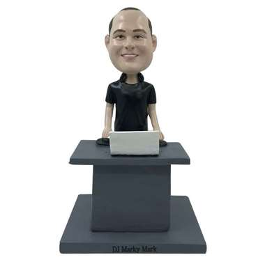 Picture of Custom Bobblehead Doll: DJ Playing